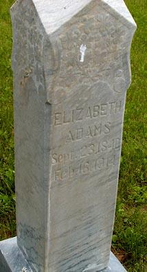 Elizabeth Lucretta <i>Smith</i> Adams