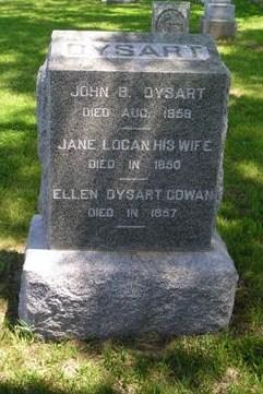 Jane <i>Logan</i> Dysart