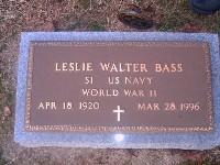 Leslie Walter Jack Bass