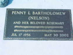 Penny Louise <i>Nelson</i> Bartholomew