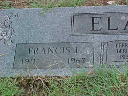 Francis Lafayette Fate or Tick Elam