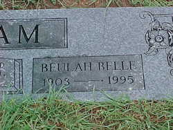 Beulah Belle <i>Burklow</i> Hollowell Elam