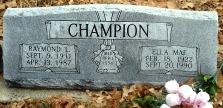 Ella Mae Champion