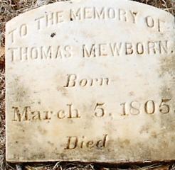 Thomas Mewborn