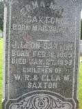 Erma May <i>Saxton</i> Bedford