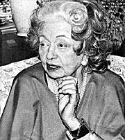 Vera Arturovna <i>de Bosse</i> Stravinskaya