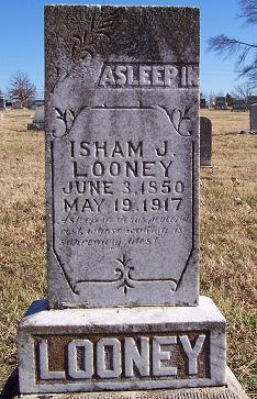 Rev Isham Jones Looney