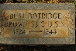 Burl Dotridge Brown