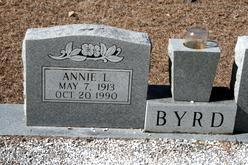 Annie Lou <i>Shedd</i> Byrd