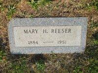 Mary <i>Hardy</i> Reeser