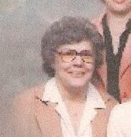Betty Louise <i>Baugh</i> Thomas