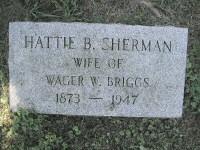 Hattie B. <i>Sherman</i> Briggs