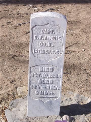Edwin V. Andress Gravestone