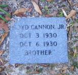 Floyd Cannon, Jr