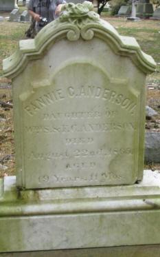 Fannie C Anderson