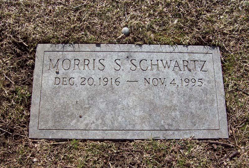 Morrie Schwartz (1916 - 1995) - Find A Grave Photos