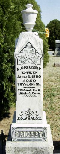 Lieut Nathaniel Grigsby