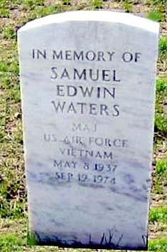 Maj Samuel Edwin Sam Waters, Jr