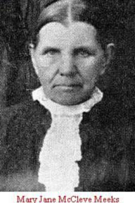 Mary Jane <i>McCleve</i> Meeks