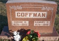 Cordie O <i>Etchison</i> Coffman