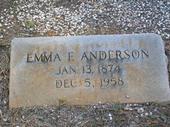 Emma Rebecca <i>Flanigan</i> Anderson