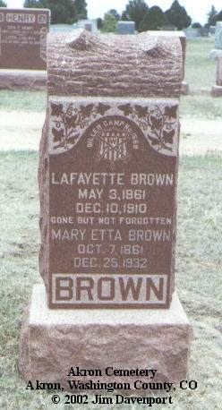 Lafayette J. Brown