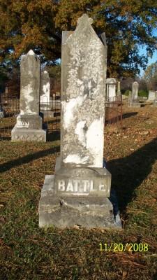 Carrie W. <i>Boswell</i> Battle