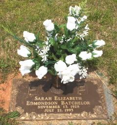 Sarah Elizabeth <i>Edmondson</i> Batchelor