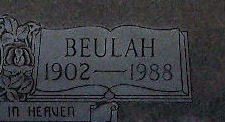 Beulah Moncier