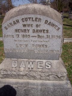 Sarah <i>Cutler</i> Dawes