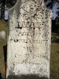 Sarah <i>Buttery</i> Gillett