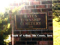 Hayes Township Cemetery