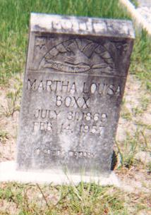 Martha Louisa <i>Green</i> Boxx