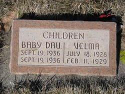 Baby daughter Dodds