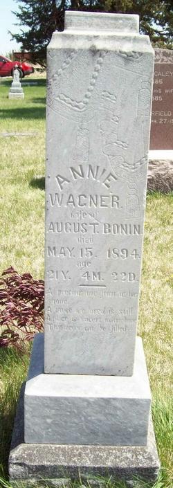 Anna Annie <i>Wagner</i> Bonin