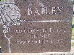 Mrs Bertha L. <i>Hart</i> Bailey