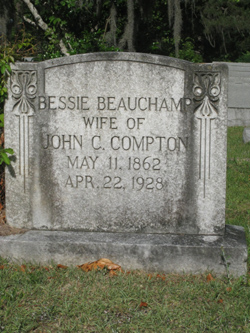 Bessie <i>Beauchamp</i> Compton
