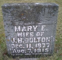Mary E <i>McCane</i> Bolton