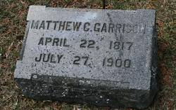 Mathias C. Matthew Garrison
