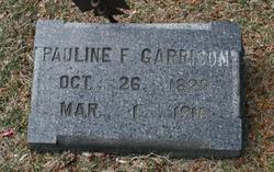 Pauline F. Garrison