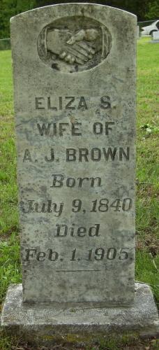 Eliza S Brown