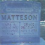 Grace Ann <i>Gilman</i> Matteson