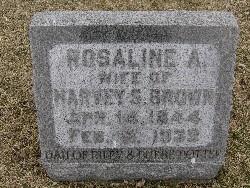 Rosaline A. <i>Potter</i> Brown