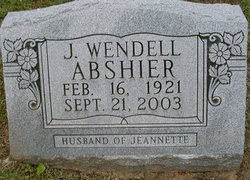 J Wendell Abshire