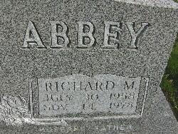 Richard M Ricky Abbey