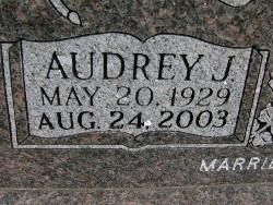Audrey J <i>Nurse</i> Bond