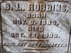 Benjamin Leroy Robbins