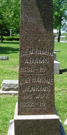 Catharine <i>Jenkins</i> Adams