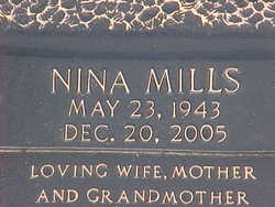 Nina <i>Mills</i> Bloodworth