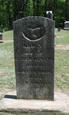 Nancy <i>Adams</i> Ackers